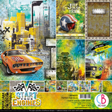 """Εικόνα του Ciao Bella Double-Sided Paper Pack 12""""X12"""" - Start your Engines"""