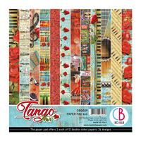 Εικόνα του Ciao Bella Double-Sided Paper Pack 6''x6'' - Tango