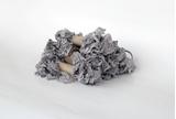 Εικόνα του Shabby Crinkled Seam Binding Ribbon - Grey Mist