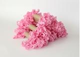 Εικόνα του Shabby Crinkled Seam Binding Ribbon - Siam Pink