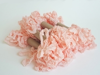 Εικόνα του Shabby Crinkled Seam Binding Ribbon - Pink Ice
