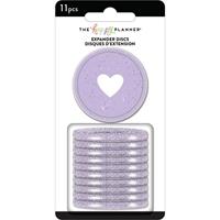 """Εικόνα του Happy Planner Large Discs 1.75""""  - Grape Glitter"""