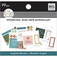 Εικόνα του Happy Planner Tiny Sticker Pad - Inspired Educator