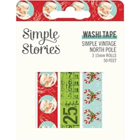 Εικόνα του Simple Stories Simple Vintage North Pole Washi Tape