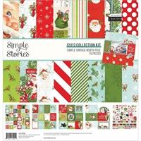 """Εικόνα του Simple Stories Collection Kit 12""""X12"""" - Simple Vintage North Pole"""