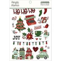Εικόνα του Simple Stories Sticker Book - Jingle All the Way