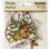 Εικόνα του Simple Vintage Great Escape Bits & Pieces Die-Cuts