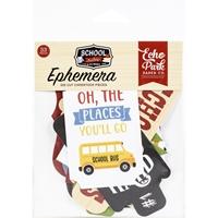 Εικόνα του School Rules Echo Park Cardstock Ephemera - Icons