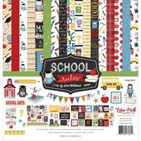 """Εικόνα του Echo Park Collection Kit 12""""X12"""" - School Rules"""