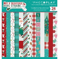 "Εικόνα του PhotoPlay Double-Sided Paper Pad 6""X6""  - Not A Creature Was Stirring"