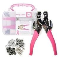 Εικόνα του Crop-A-Dile Hole Punch & Eyelet Setter - Pink Kit