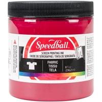 Εικόνα του Speedball Fabric Screen Printing Ink 8oz - Μελάνι Μεταξοτυπίας Red