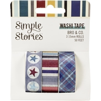 Εικόνα του Simple Stories Washi Tape - Bro & Co.