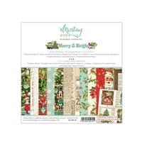 Εικόνα του Mintay Papers Μπλοκ Scrapbooking 6''x6'' - Merry & Bright