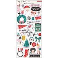 Εικόνα του Hey Santa Cardstock Stickers