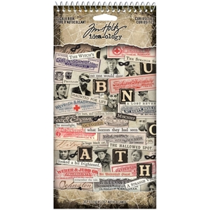 Picture of Tim Holtz Idea-Ology Sticker Book - Curiosities 2020