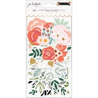 Εικόνα του Jen Hadfield The Avenue Ephemera Cardstock Die-Cuts - Flowers