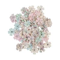 Εικόνα του Sugar Cookie Mulberry Paper Flowers - White Christmas