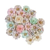 Εικόνα του Sugar Cookie Mulberry Paper Flowers - Pink Christmas