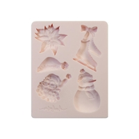 """Εικόνα του Καλούπια Σιλικόνης Decor Moulds 3.5""""X4.5"""" - Sugar Cookie"""