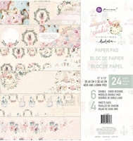 "Εικόνα του Prima Marketing Double-Sided Paper Pad 12""X12"" - Sugar Cookie"