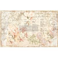 """Εικόνα του Prima Re-Design Decoupage Decor Tissue Paper 19""""X30"""" - Floral Parchment"""