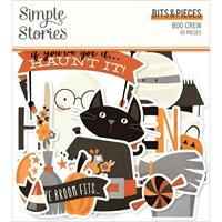 Εικόνα του Simple Stories Boo Crew Bits & Pieces Die-Cuts