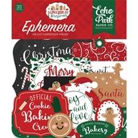 Εικόνα του Echo Park A Gingerbread Christmas Cardstock Ephemera - Icons