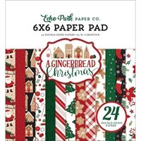 "Εικόνα του Echo Park Double-Sided Paper Pad 6""X6"" - A Gingerbread Christmas"