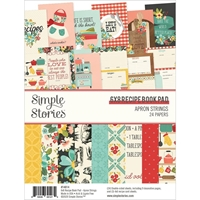 "Εικόνα του Simple Stories Double-Sided Paper Pad 6""X8""  - Apron Strings"