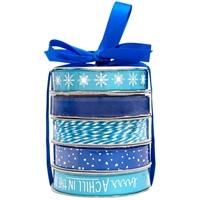Εικόνα του American Crafts Premium Σετ Κορδέλα & Σπάγγος - Winter Blue