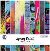 """Εικόνα του Colorbok Μπλοκ Scrapbooking 12""""X12"""" - Spray Paint"""