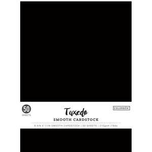 Picture of Colorbok Μαύρο Cardstock  - Tuxedo  Smoking