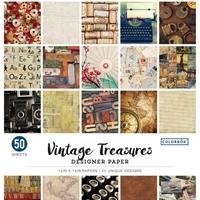 """Εικόνα του Colorbok Μπλοκ Scrapbooking 12""""X12"""" - Vintage Treasures"""