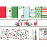 "Εικόνα του Fancy Pants Designs Collection Kit 12""X12"" - Wishmas"