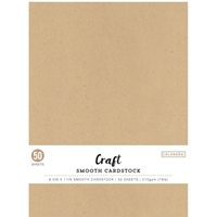 "Εικόνα του Colorbok Smooth Cardstock 8.5""X11"" - Kraft"
