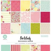 """Εικόνα του Colorbok Μπλοκ Scrapbooking 12""""X12"""" - Delilah"""
