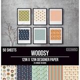 """Εικόνα του Colorbok Μπλοκ Scrapbooking 12""""X12"""" - Woodsy"""