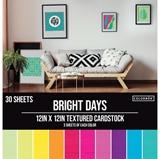 Εικόνα του Colorbok Textured Cardstock Pad - Bright Days