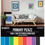 Εικόνα του Colorbok Textured Cardstock Pad - Primary Pizazz