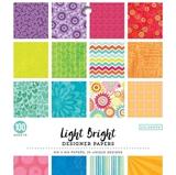 """Εικόνα του Colorbok Single-Sided Printed Cardstock 6""""X6"""" - Light Bright"""