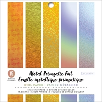 "Εικόνα του Colorbok Prismatic Foil Pad 6""X6"" - Metal"
