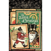 Εικόνα του Graphic 45 Christmas Time Ephemera & Journaling Cards