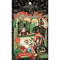 Εικόνα του Graphic 45 Christmas Time Cardstock Die-Cut Assortment