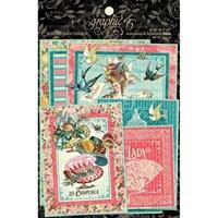 Εικόνα του Graphic 45 Ephemera Queen Ephemera & Journaling Cards