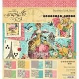 """Εικόνα του Graphic 45 Collection Pack 12""""X12"""" - Ephemera Queen"""