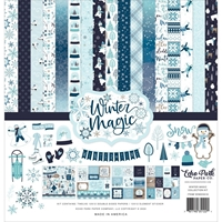 "Εικόνα του Echo Park Collection Kit 12""X12"" - Winter Magic"