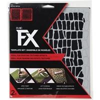 """Εικόνα του FX Mylar Laser Stencil 8""""x9"""" - Reptile"""
