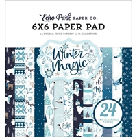 "Εικόνα του Echo Park Double-Sided Paper Pad 6""X6"" - Winter Magic"