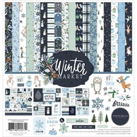 "Εικόνα του Carta Bella Collection Kit 12""X12"" - Winter Market"